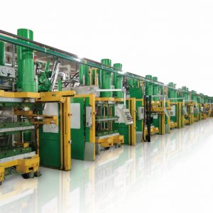 Automatic Rubber Track Machine