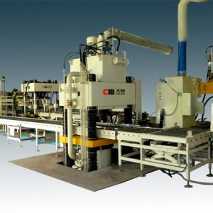 Grinding Resin Wheels Hydraulic Press Production Line