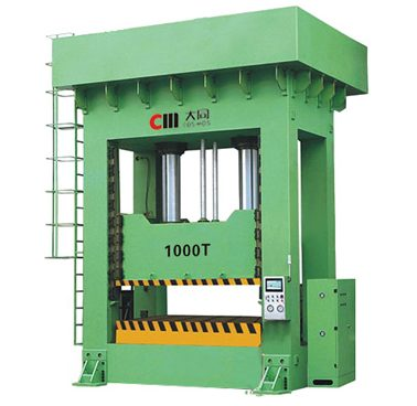 Frame Type Double Action Servo Driven Hydraulic Press
